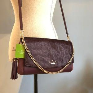 KATE SPADE Greer Laurel Way Haircalf Crossbody Bag
